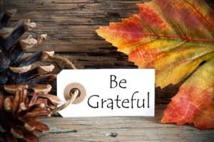 Be Grateful 123